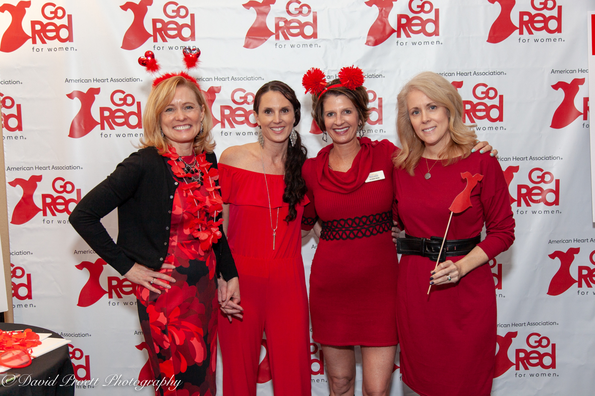 Ladies in Red Photo