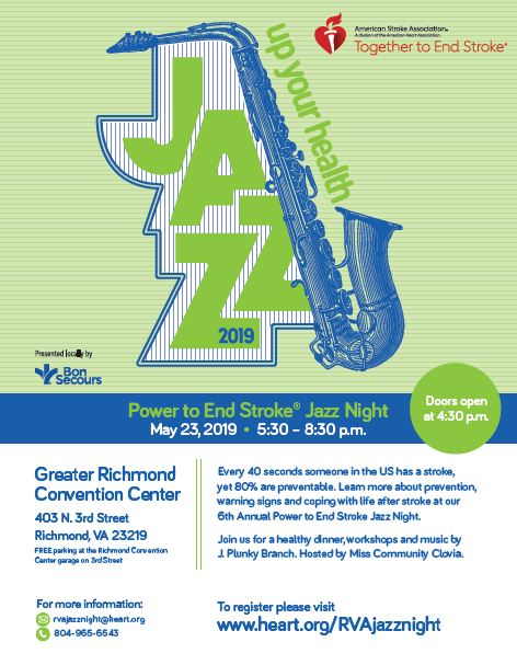 Up Your Health Power to End Stroke Jazz Night